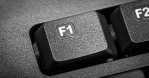 Press the F1 Key for Help in FINPACK