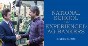2018 National School for Experienced Ag Bankers